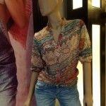camisa estampada invierno 2014