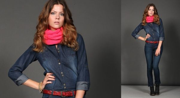 camisas de jeans invierno 2014