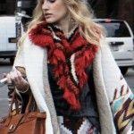 india Style invierno 2014 abrigos