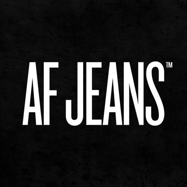 AF jeans logo