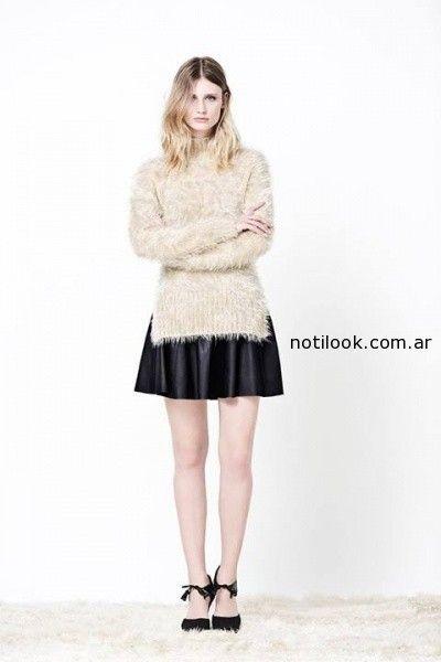 Faldas cortas delaostia invierno 2014