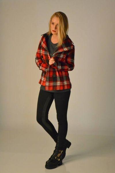 Jeans y saco escoces AF jeans invierno 2014