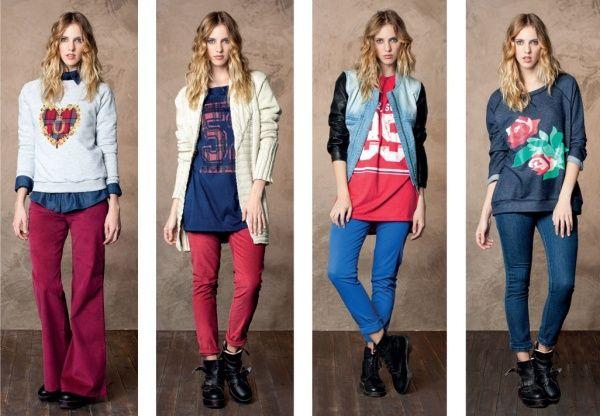 Look casuales by Nucleo modas invierno 2014