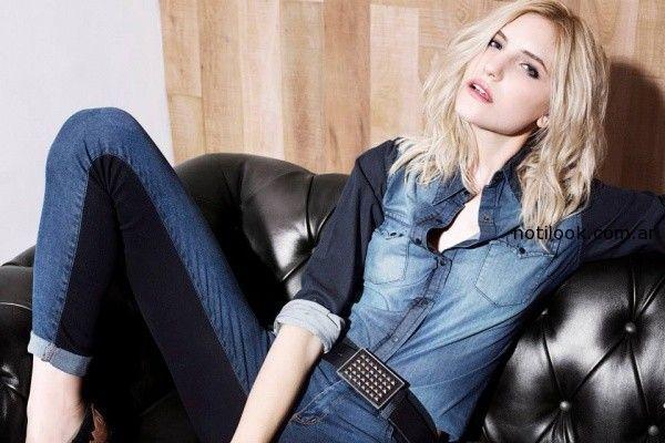 Riffle Jeans camisas invierno 2014
