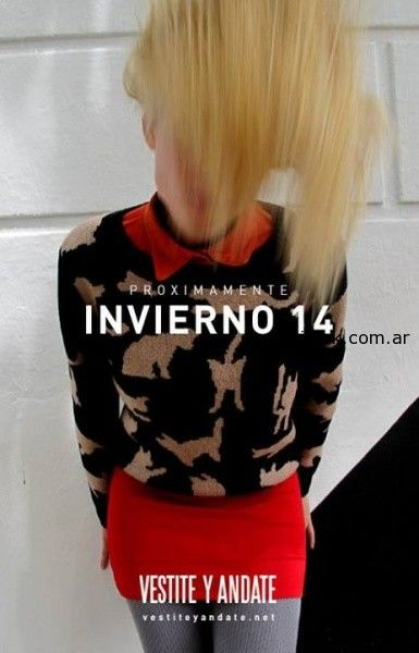 Sweater invierno 2014 vestite y andate