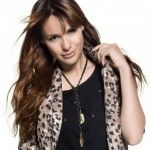 animal print Pampita Yagmour invierno 2014