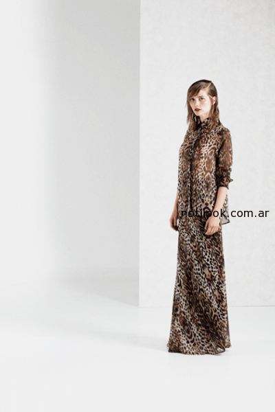 camisa animal print Paris by Flor Monis