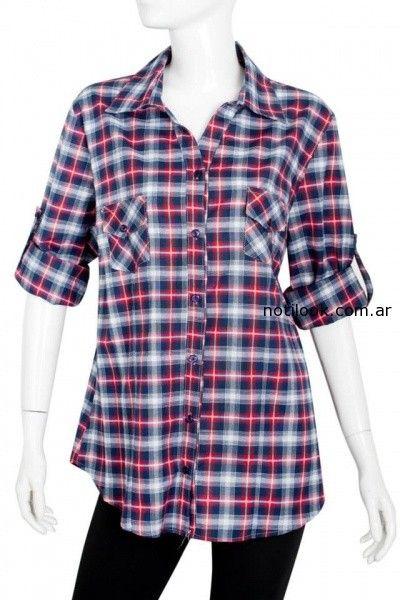 camisa escocesa Syes invierno 2014