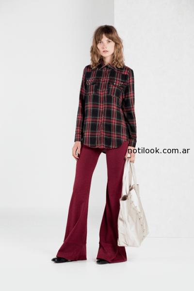 camisa escocesa invierno 2014 Paris by Flor Monis