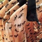 camisa estampa animales Wanama invierno 2014