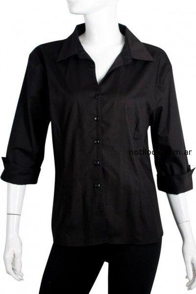 camisa negra Syes invierno 2014