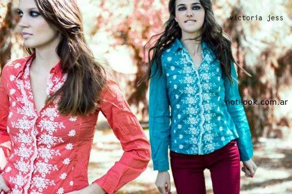 camisas Victoria Jess otoño invierno 2014
