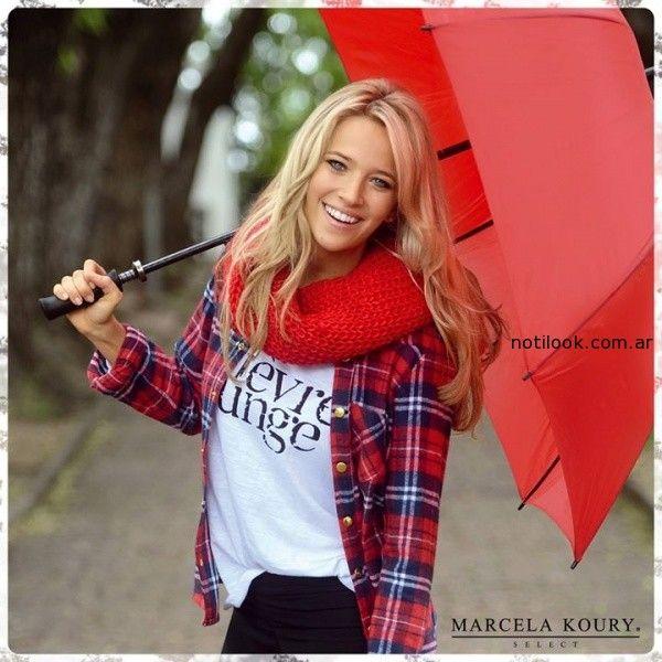 a2bdb719f camisas escocesas invierno Marcela Koury – Moda Mujer Argentina