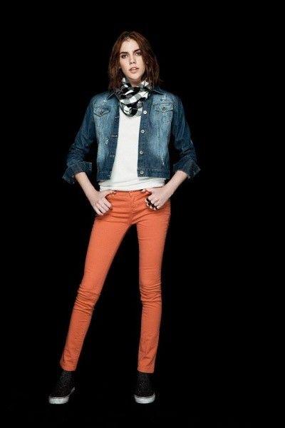 campera jeans Peuque invierno 2014