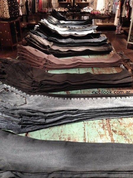 jeans  colores Wanama invierno 2014