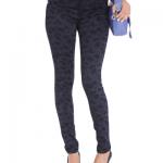 jeans vitamina invierno 2014 - azul estampado