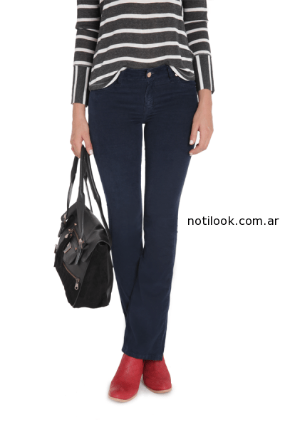 jeans vitamina invierno 2014 - azul recto