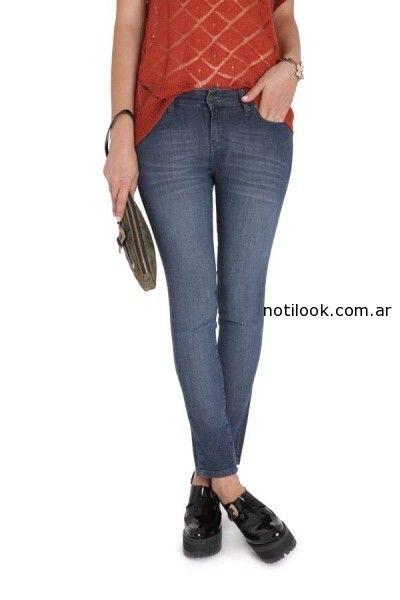 jeans vitamina invierno 2014 - azul