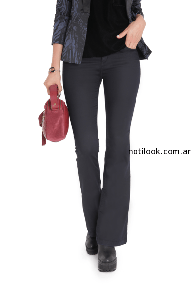 jeans vitamina invierno 2014 - negro oxford
