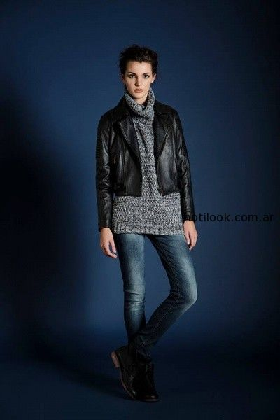 jeans y sweater Leandro Dominguez Invierno 2014