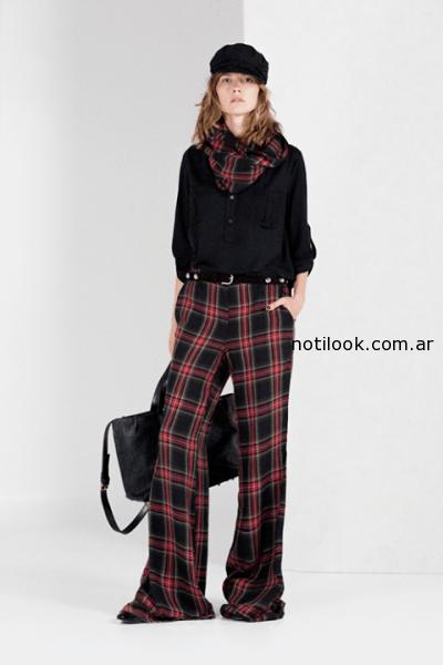 pantalon escoces Paris by Flor Monis