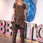 pantalon y remera estampada Benito Fernandez Invierno 2014