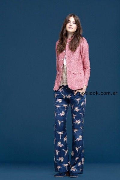 pantalones estampados wanama invierno 2014