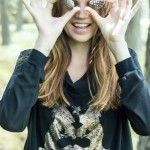 remera con estampa Victoria Jess otoño invierno 2014