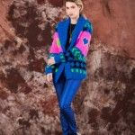 saco colores tejido invierno 2014 by Agustina Saquer