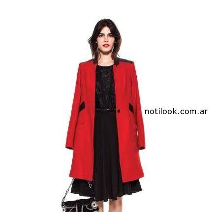 saco rojo Maria Vazquez invierno 2014