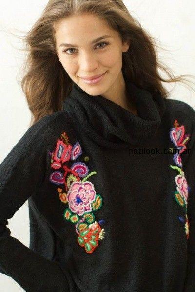 sweater bordado invierno 2014 Madastore