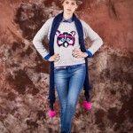 sweater estampa animal tejido invierno 2014 by Agustina Saquer