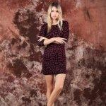 vestido tejido invierno 2014 by Agustina Saquer