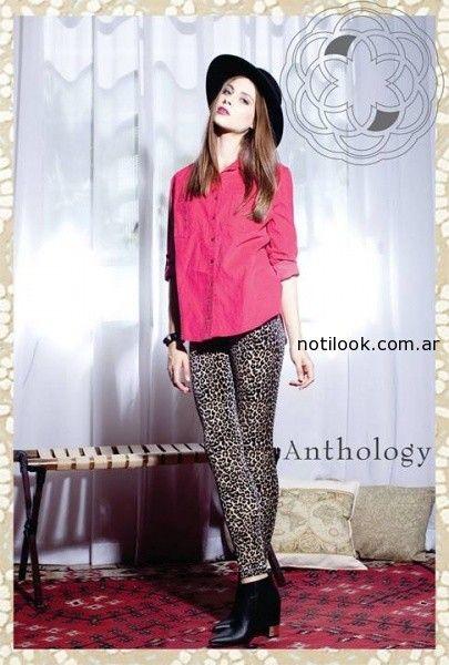 calzas animal print 2014 anthology