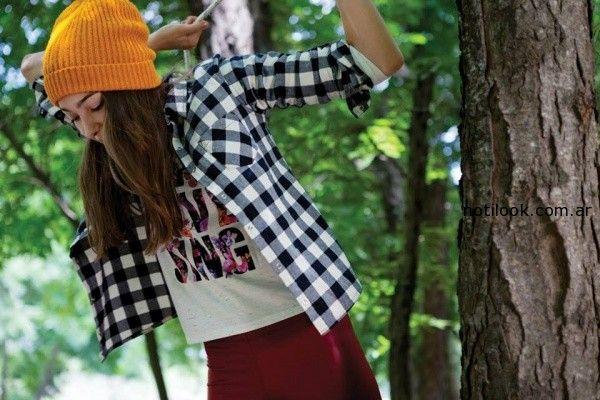 camisa a cuadro como quieres que te quiera invierno 2014
