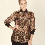 camisa animal print invierno 2014 adriana costantini