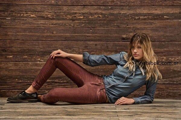 camisas de jeans invierno 2014 tannery