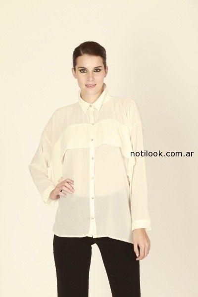 camisas para mujer invierno 2014 adriana costantini