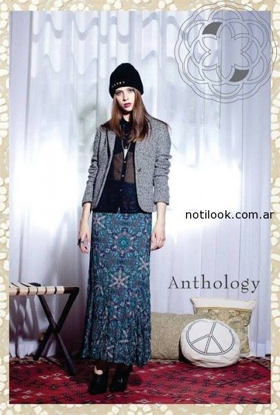 polleras largas invierno 2014 anthology