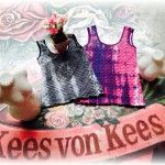 remeras texturadas tipo escama Kees von Kees