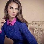 sweater azul etam argentina invierno 2014