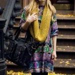 vestidos indian style invierno 2014