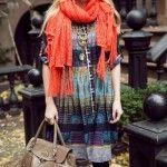 vestidos para usar con calza india style invierno 2014