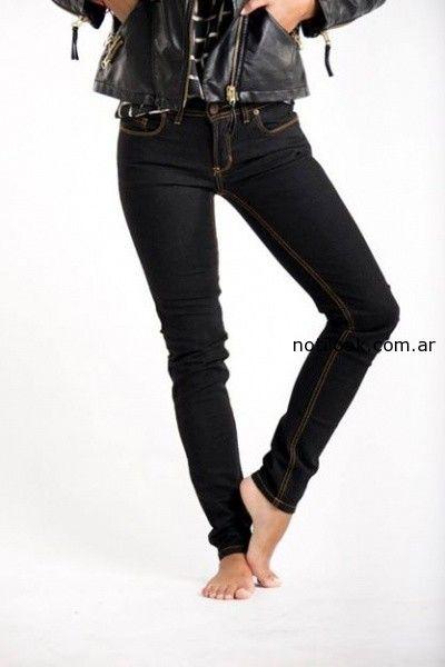 Jeans Chupin negro Desvio invierno 2014