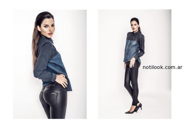 camisa de jeans OASSIAN Jeans invierno 2014