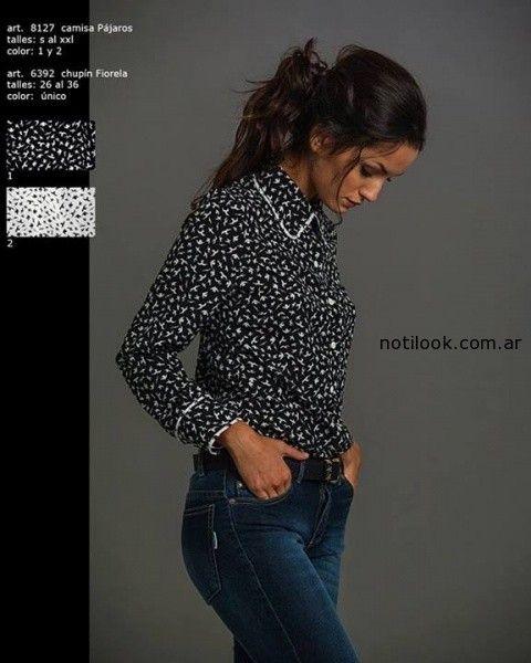 camisas estampadas invierno 2014 Okoche