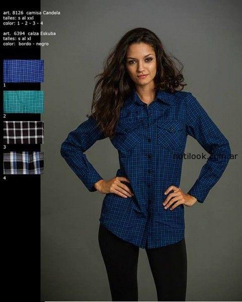 camisas mujer invierno 2014 Okoche