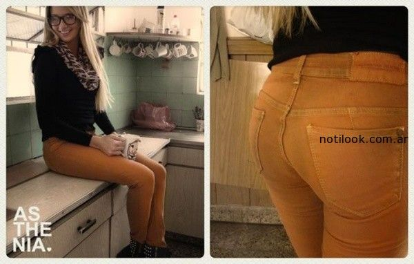 jeans colores invierno 2014 Asthenia