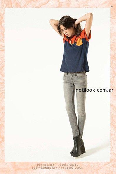 pantalon jeans levis mujer invierno 2014
