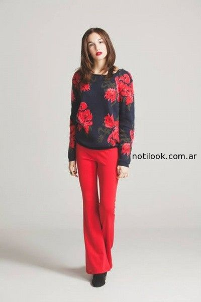 pantalon oxford rojo nare invierno 2014
